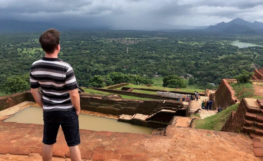 Sigiriya na vrcholu