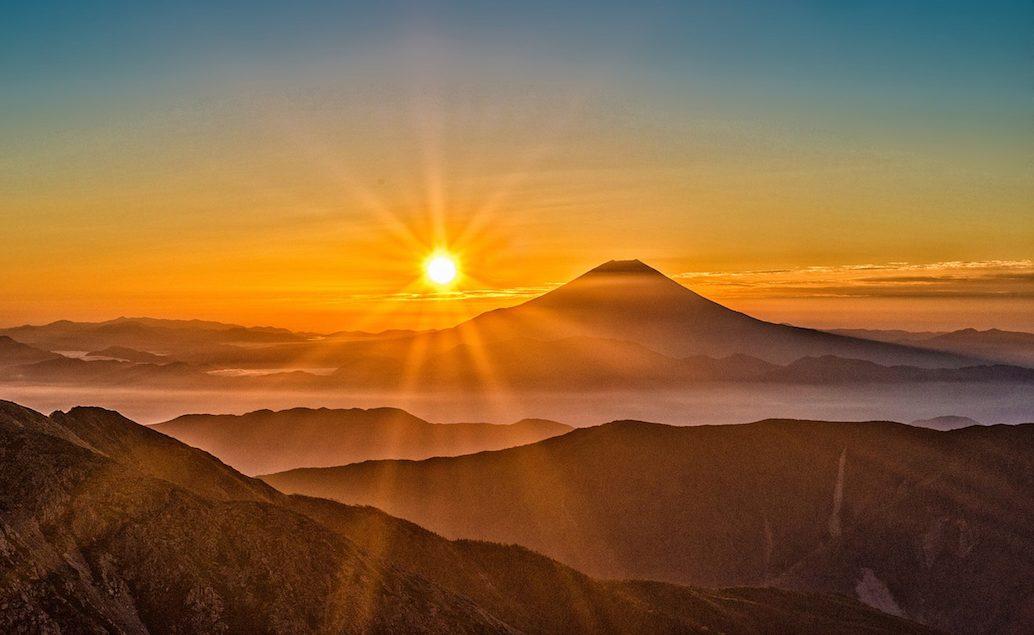 Výstup na horu Fudži a relax v lázních onsen
