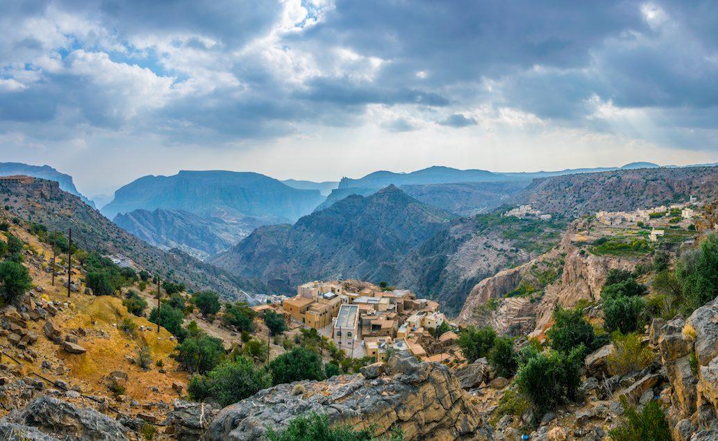 Джебель аль Ахдар-Зеленые горы