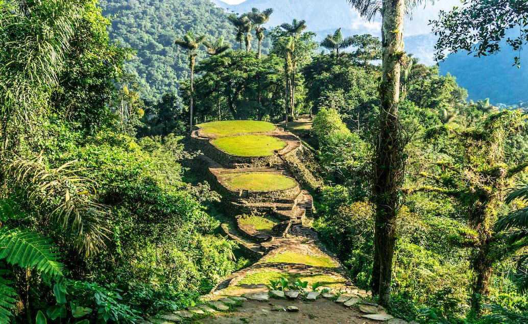 Kolumbie s vůní kávy