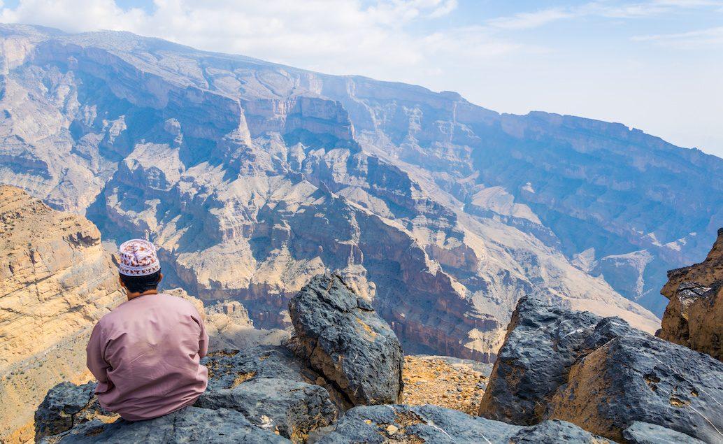 Hory a pouště Ománu