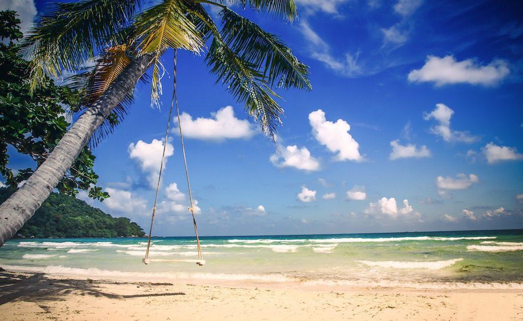 Japonsko a pláže středního Vietnamu
