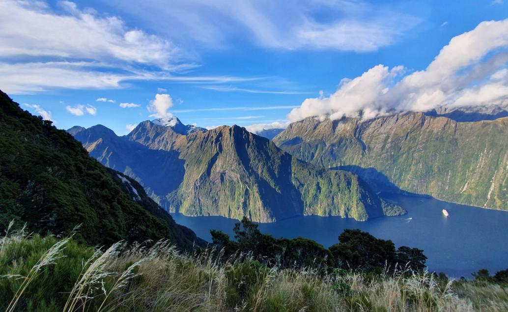 Pán prstenů Nový Zéland Milford Sound