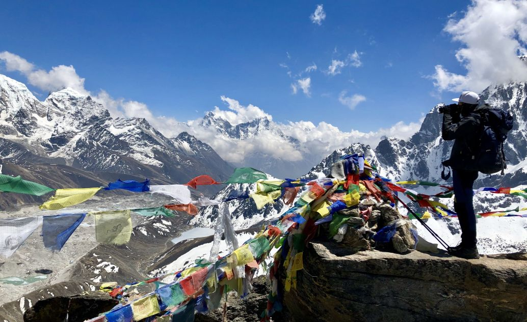 Everest Base Camp a jezero Gokyo